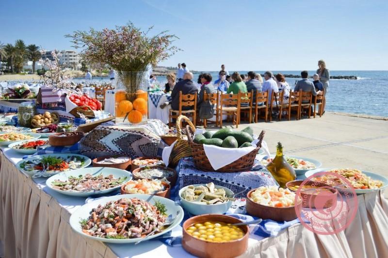 Еда из Кипра