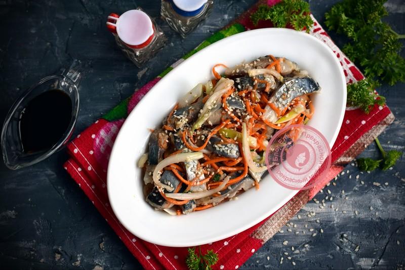 салат Хе из селедки рецепт на праздничный стол