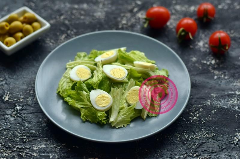 салат с маринованными мидиями рецепт