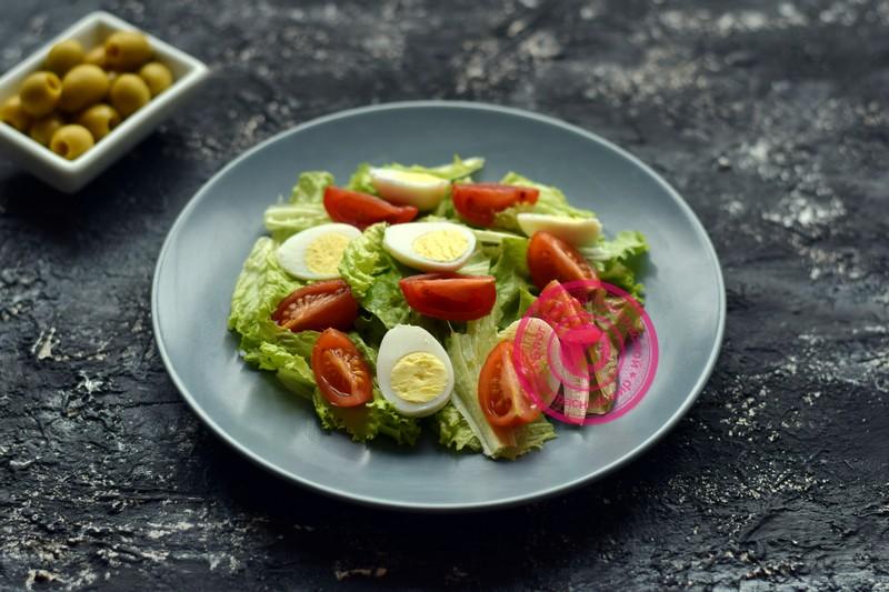 салат с маринованными мидиями рецепт с фото