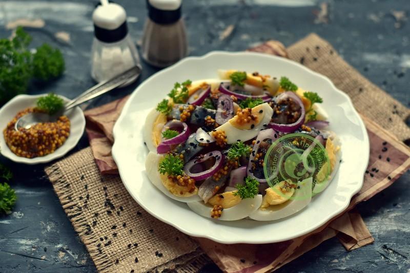 салат с селедкой рецепт на праздничный стол