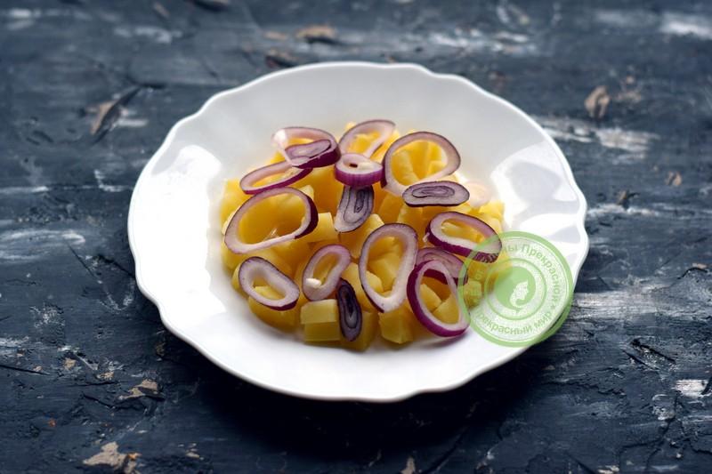 салат с селедкой рецепт с фото