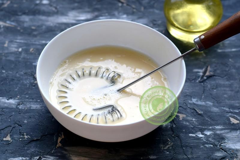 заварные блины на молоке и кипятке рецепт с фото
