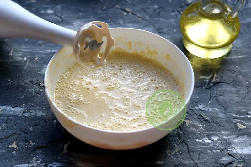 заварные блины на молоке и кипятке рецепт