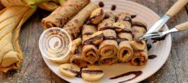 банановые блины на молоке рецепт в домашних условиях