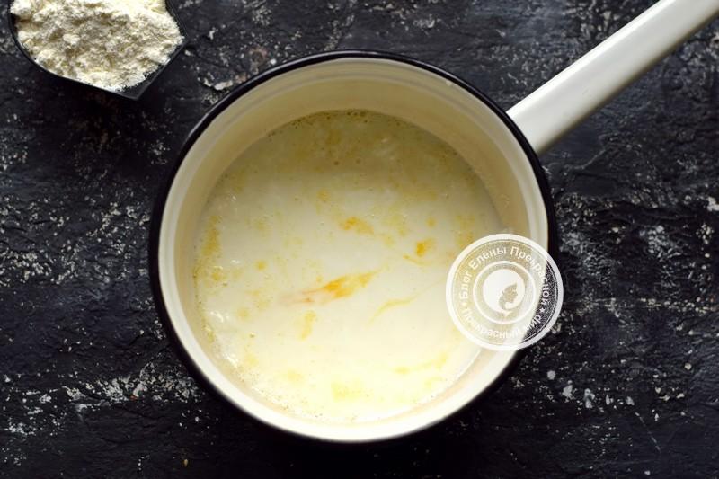 блины на кислом молоке с мясом рецепт в домашних условиях