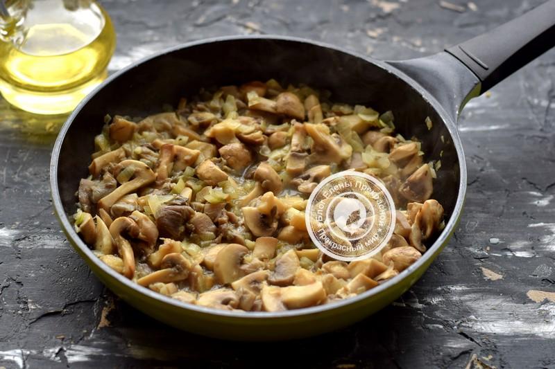 булгур с грибами рецепт