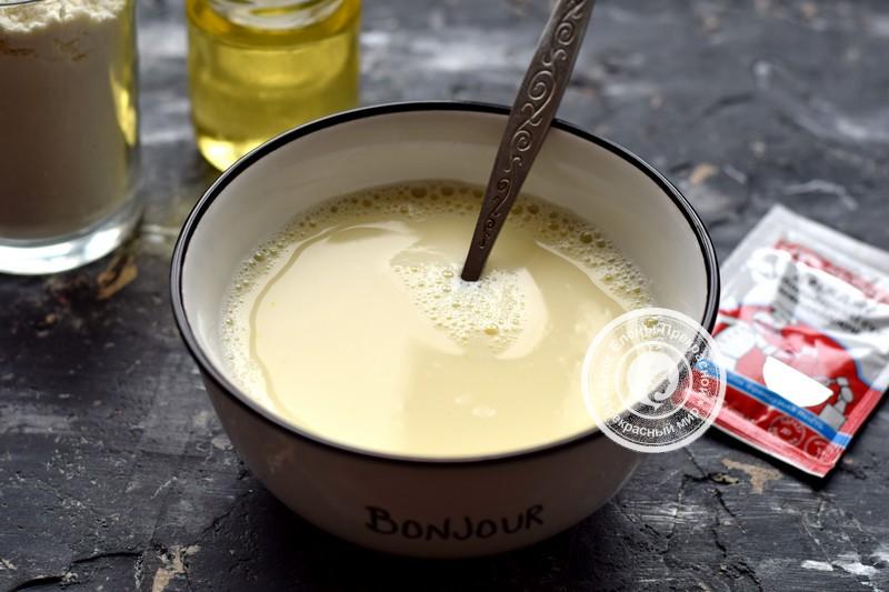 дрожжевые блины на молоке рецепт