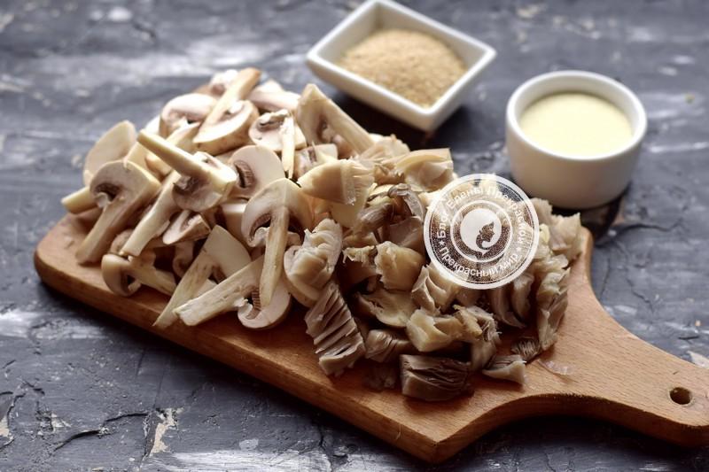 грибные котлеты рецепт