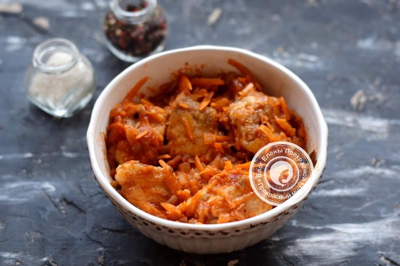 хек под томатным соусом рецепт на праздничный стол