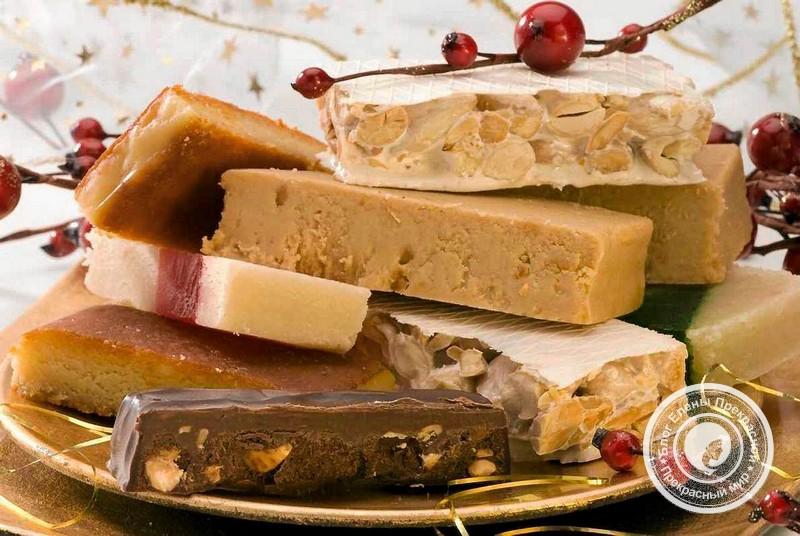 Испанские сладости Туррон