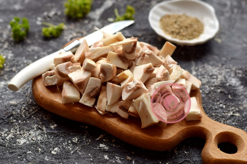 картофельные котлеты с грибами рецепт с фото
