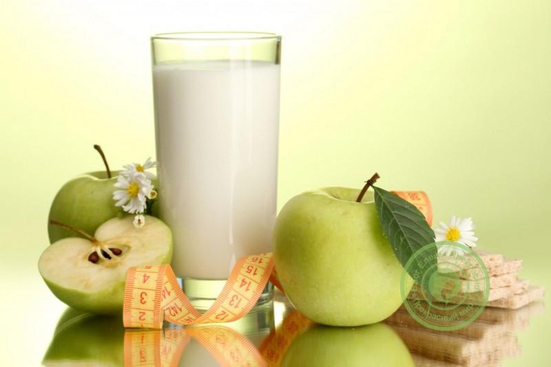 Диета в сочетании с яблоками