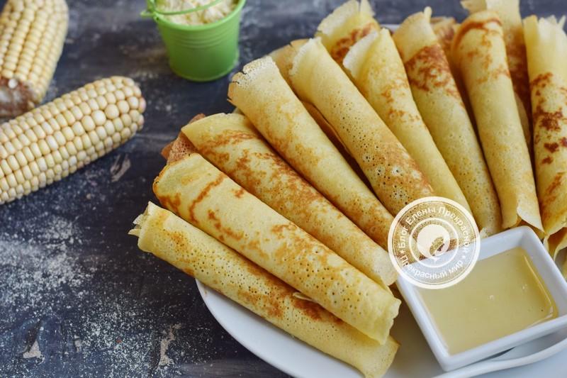 кукурузные блины рецепт в домашних условиях