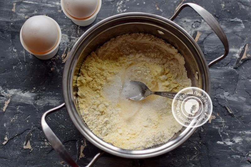 кукурузные блины рецепт