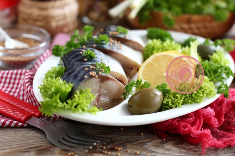 Сухой посол скумбрии целиком: рецепт на праздничный стол в домашних условиях