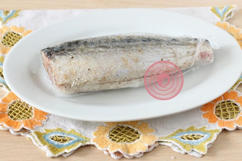 74536e2e050f Сухой посол скумбрии целиком: фото рецепт в домашних условиях