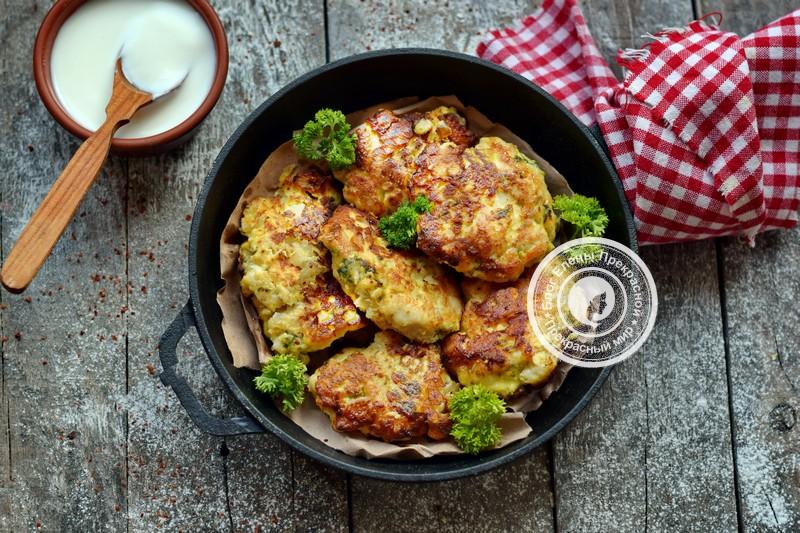 рубленные куриные котлеты с сыром рецепт на праздничный стол