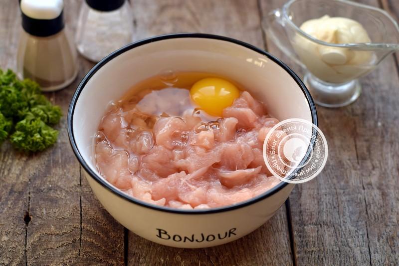 рубленные куриные котлеты с сыром рецепт