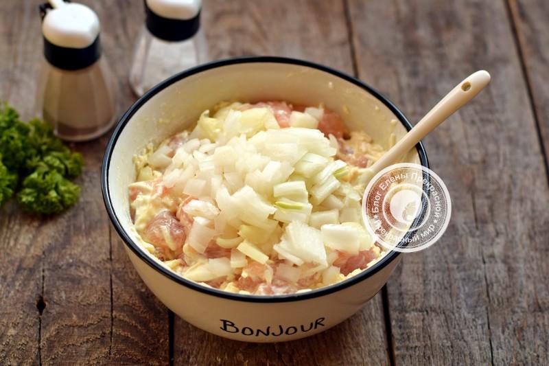 рубленные куриные котлеты с сыром рецепт в домашних условиях