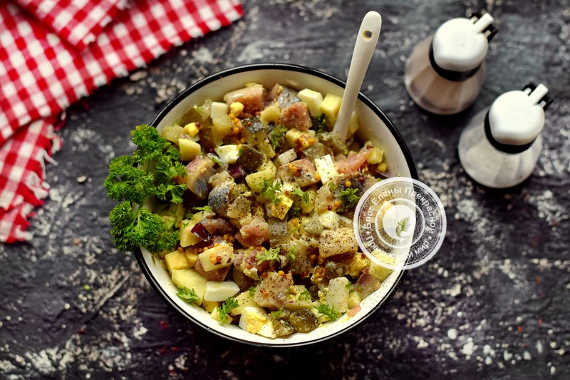 салат с сельдью рецепт на праздничный стол