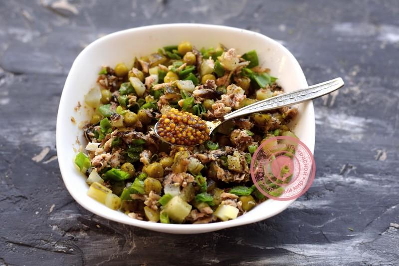 постный салат со шпротами рецепт на праздничный стол