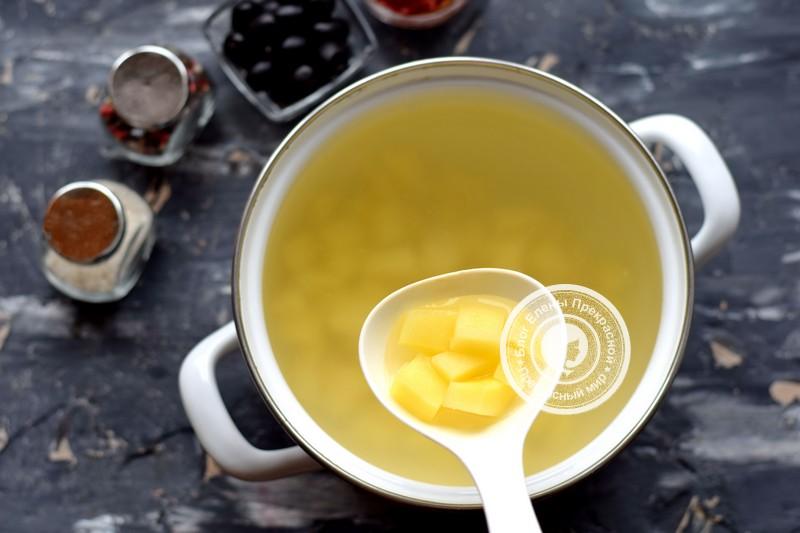 постная солянка с шампиньонами рецепт