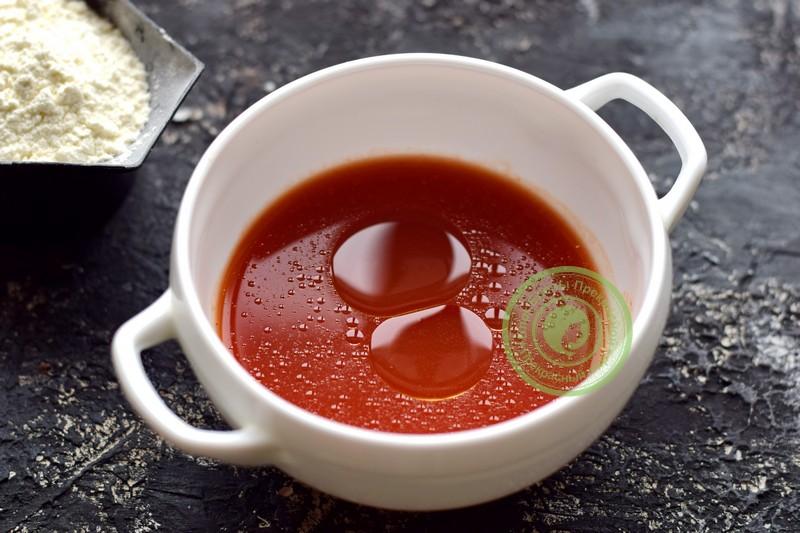 томатные блины