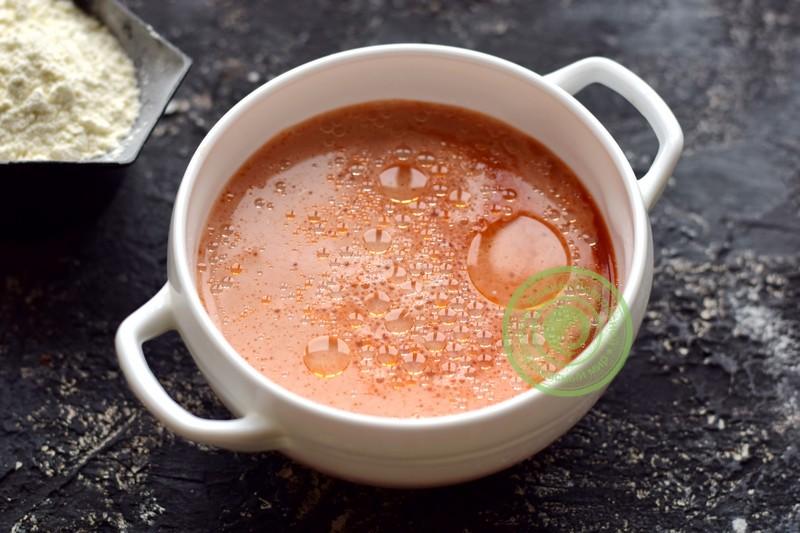 томатные блины рецепт
