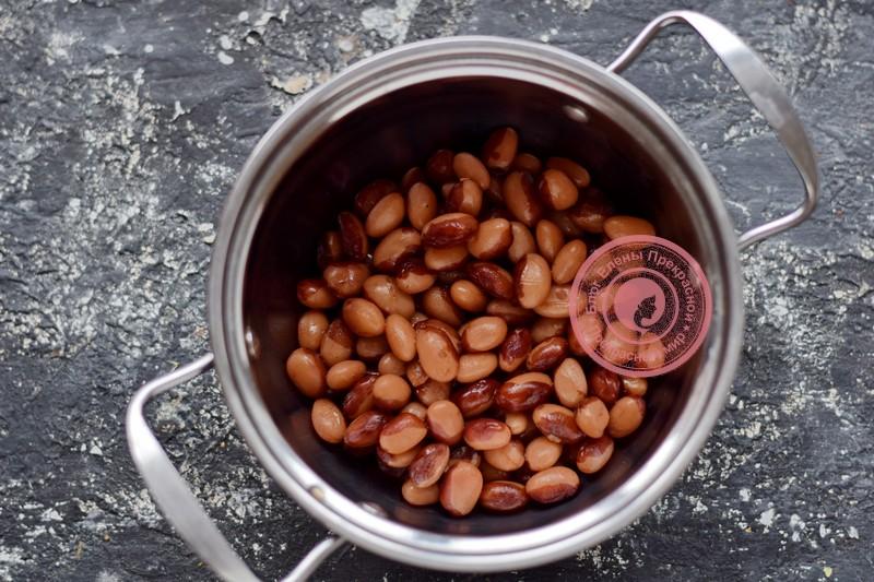 винегрет с фасолью и квашеной капустой рецепт