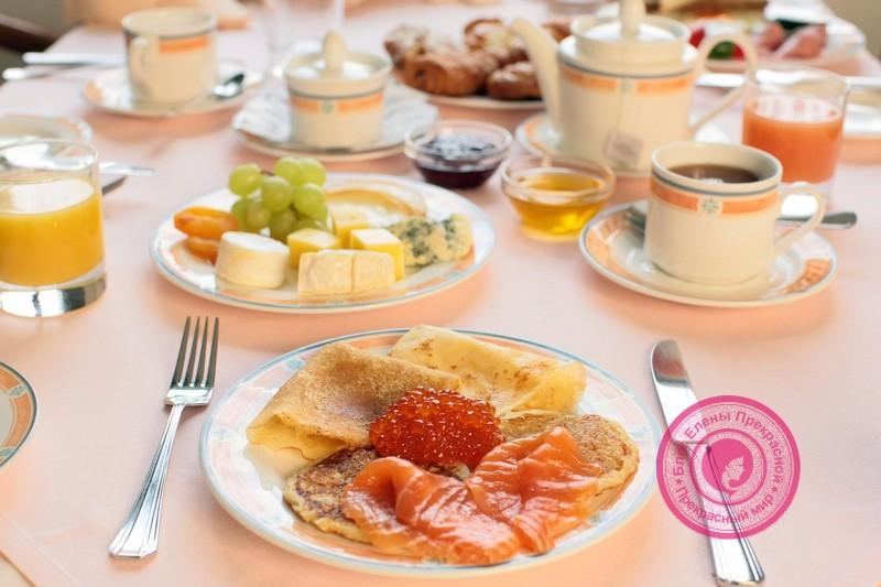 Диетический завтрак для похудения