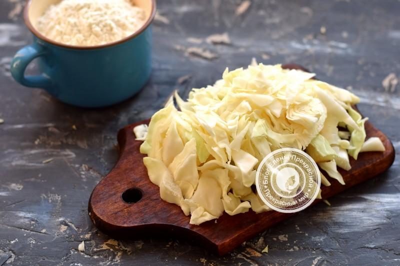 постные капустные оладьи рецепт