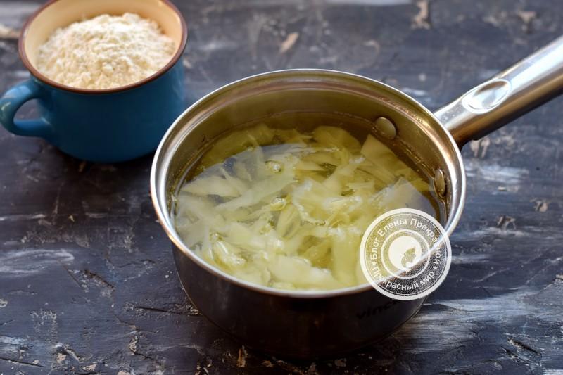 постные капустные оладьи рецепт с фото