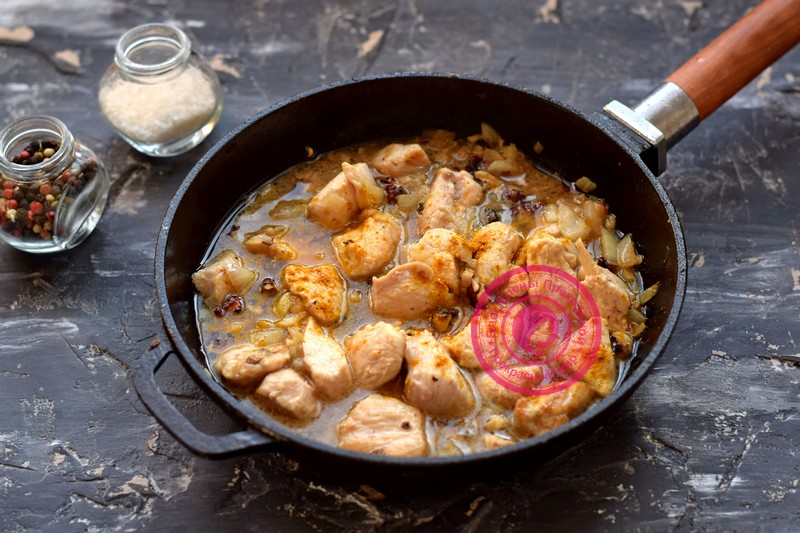 куриное филе с грецкими орехами рецепт в домашних условиях