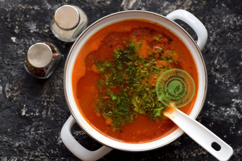 рассольник с рисом и огурцами рецепт в домашних условиях
