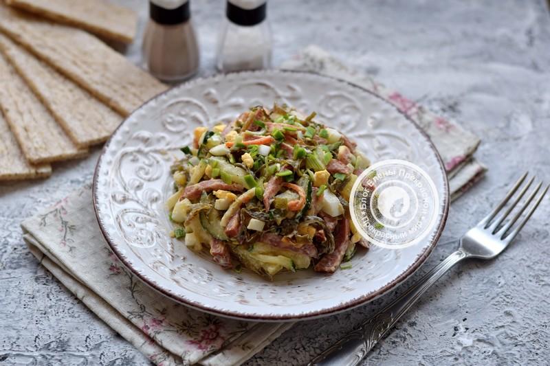 салат из морской капусты рецепт на праздничный стол
