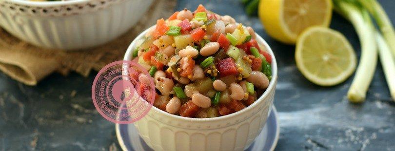салат с фасолью рецепт на праздничный стол