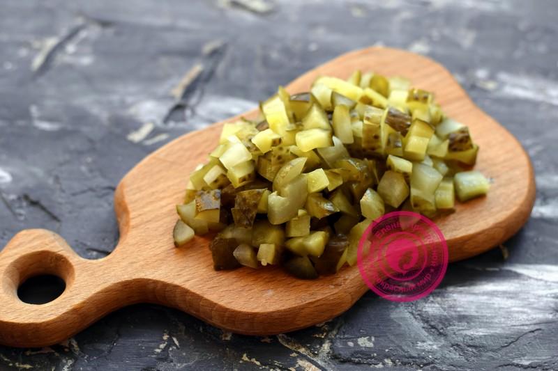 постный салат с фасолью и грибами рецепт в домашних условиях