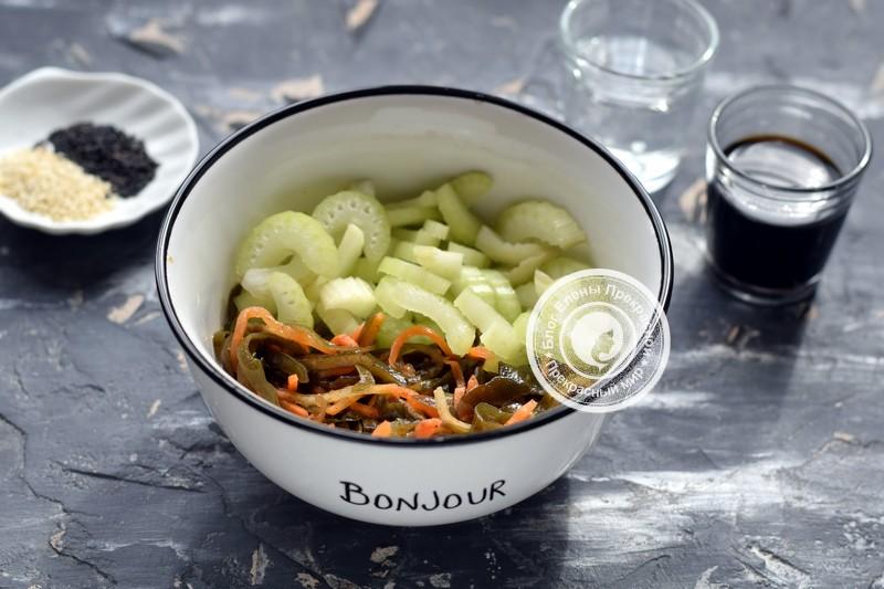 салат с сельдереем рецепт с фото