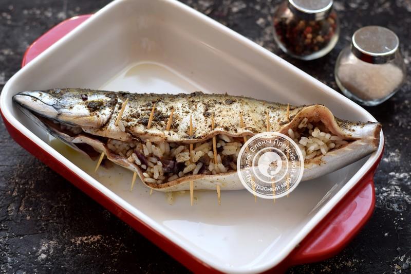 скумбрия фаршированная рисом рецепт на праздничный стол