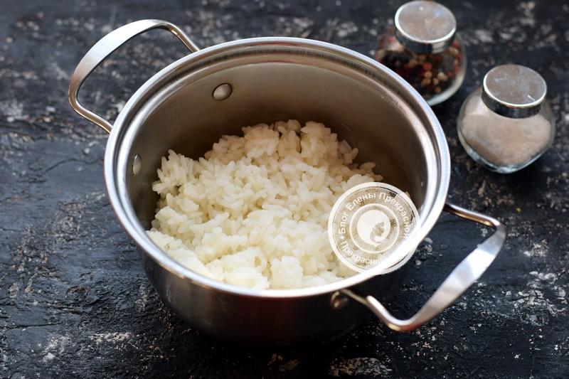 скумбрия фаршированная рисом рецепт