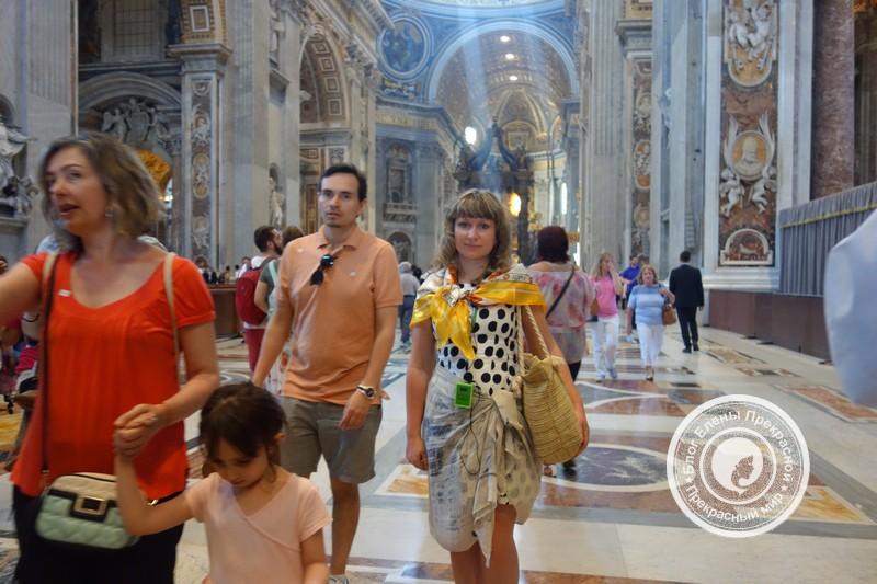 Собор Святого Петра внутри