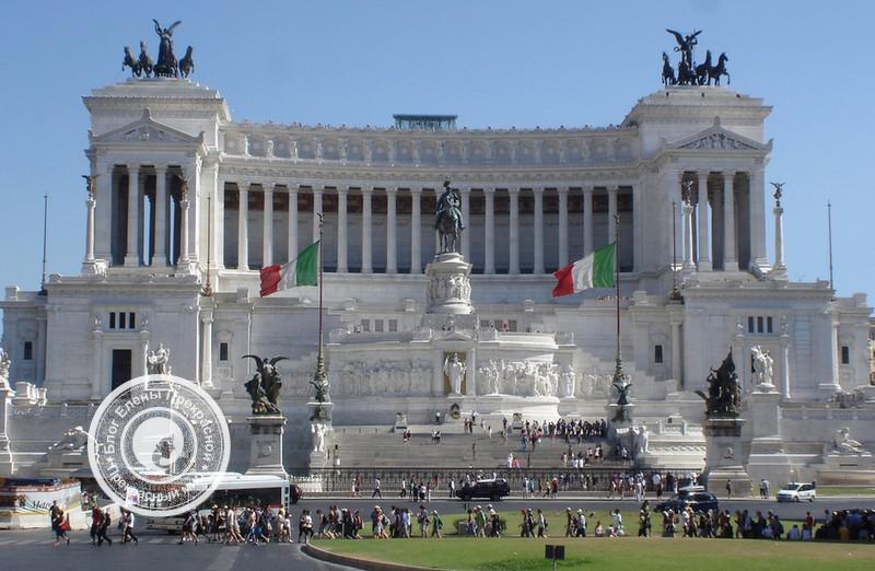 Памятник Vittoriano