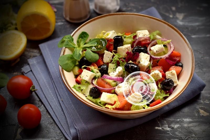 Греческий салат классический рецепт на праздничный стол: в домашних условиях