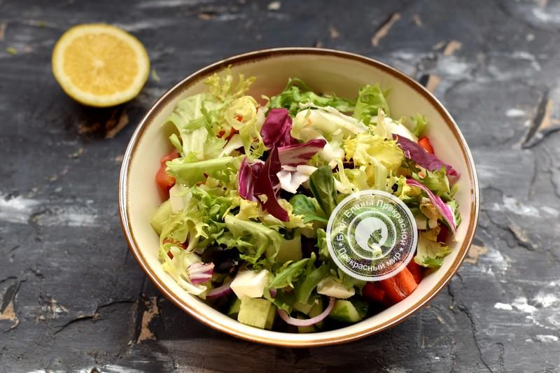 греческий салат рецепт в домашних условиях