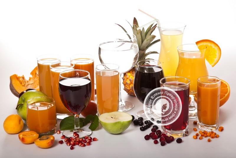 варианты питьевых диет и примерное меню на день