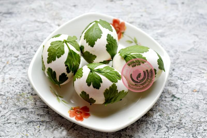 покраска яиц луковой шелухой рецепт