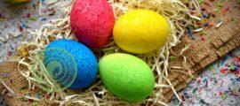 покраска яиц рисом рецепт в домашних условиях