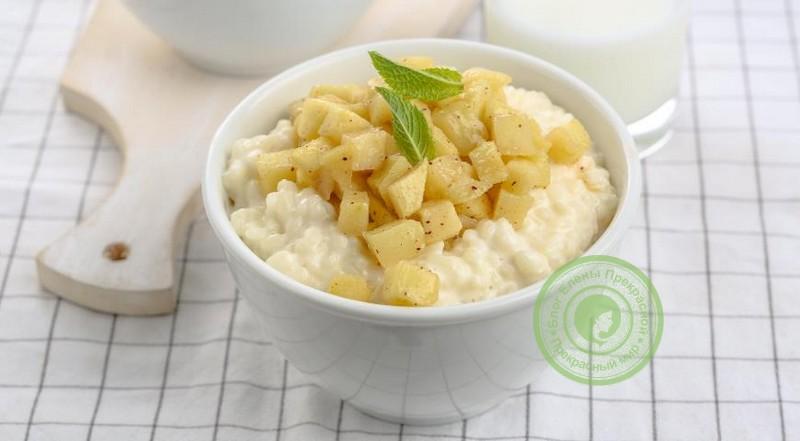 яблочно-рисовая диета