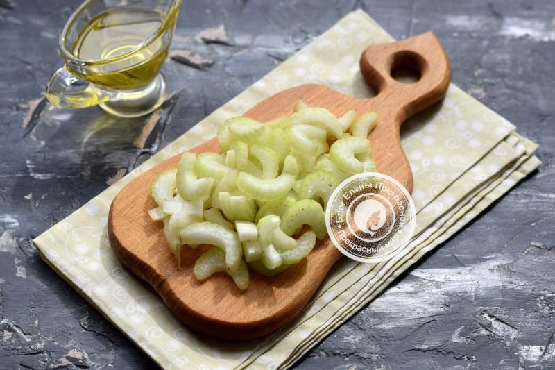 картофельный салат с сельдереем рецепт